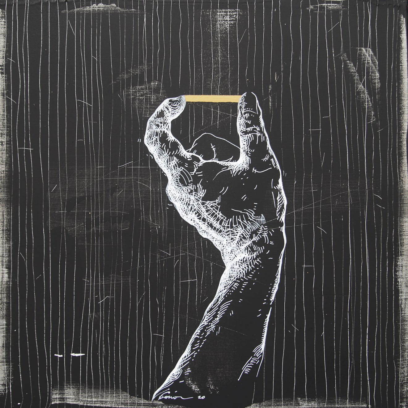 Summer Auction 2020, LOT 72 - Veta Gorner - 'Time on My Hands 2'