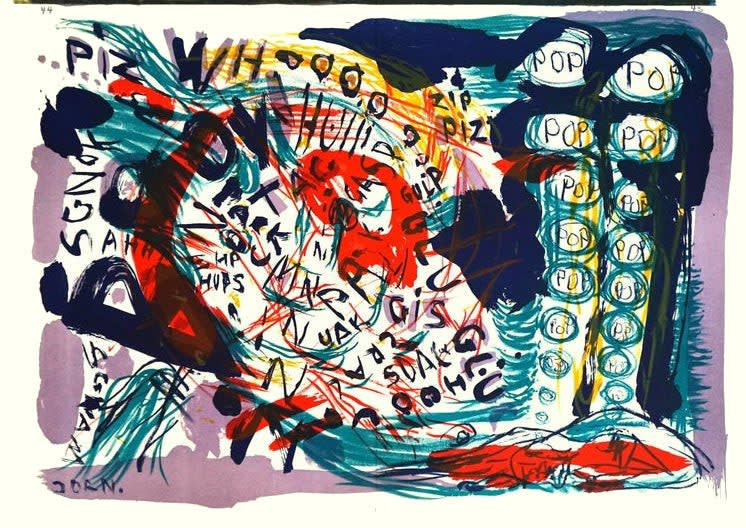 Summer Auction 2020, LOT 92 - Asger Jorn - 'Untitled (from 1 cent Life)', 1964