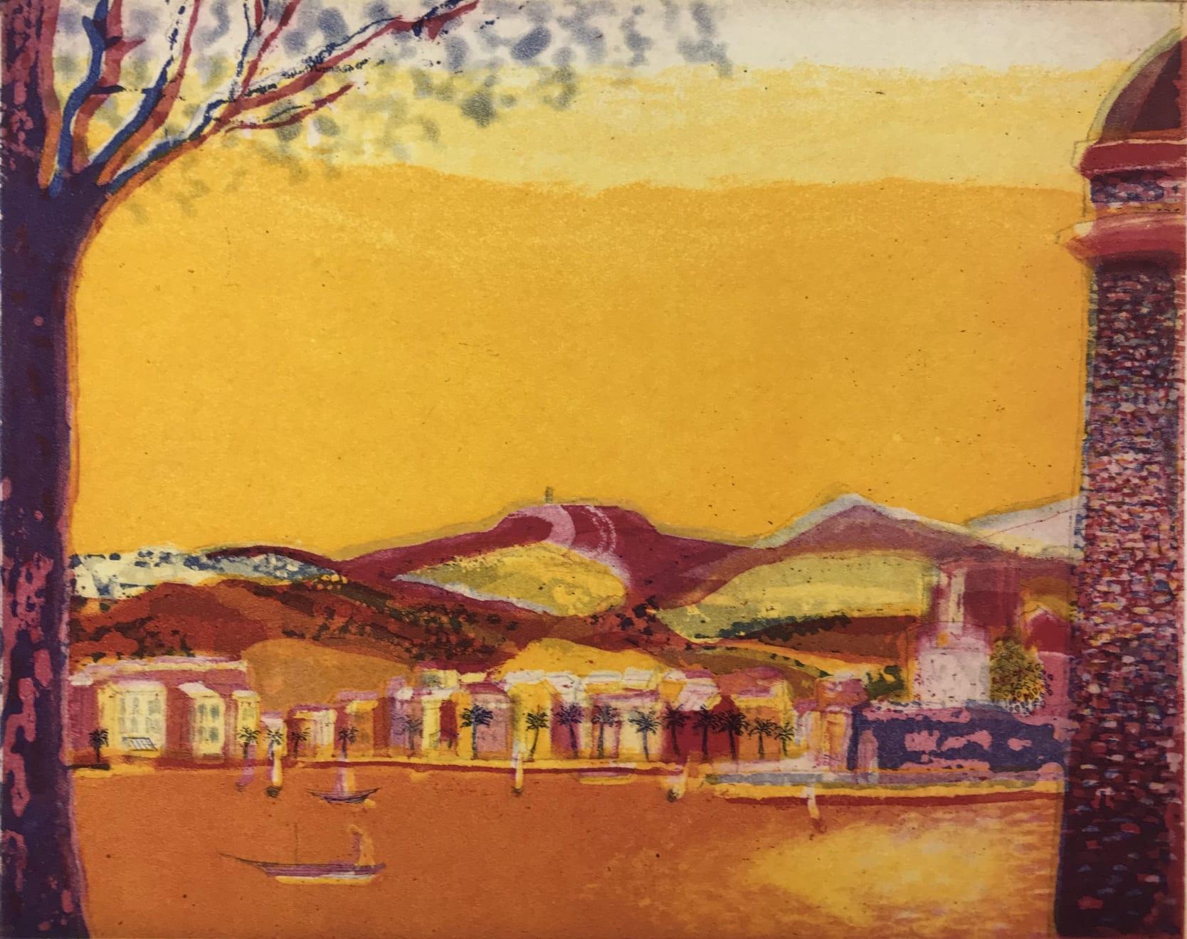 Karen Keogh, Southern Sunrise, Collioures, 2020