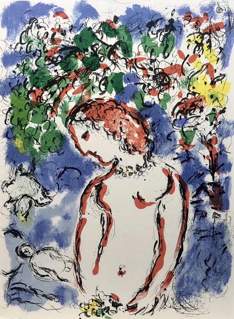 Summer Auction 2020, LOT 24 - Marc Chagall - 'From Derrière Le Miroir', 1972