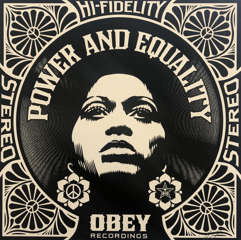 Summer Auction 2020, LOT 48 - Shepard Fairey - 'Afrocentric', 2011