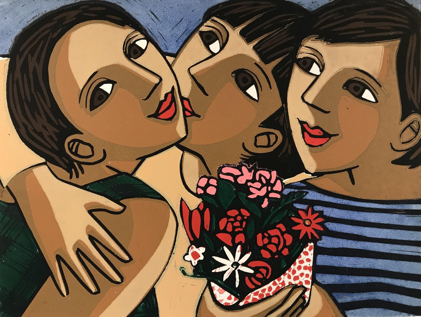 Summer Auction 2020, LOT 101 - Anita Klein - 'Birthday Flowers', 2012