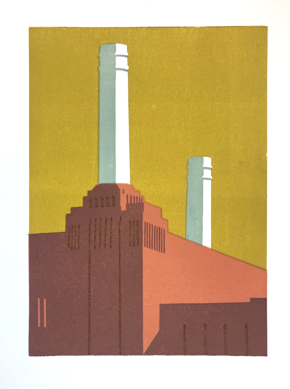 Summer Auction 2020, LOT 22 - Paul Catherall - 'Battersea Mustard', 2019