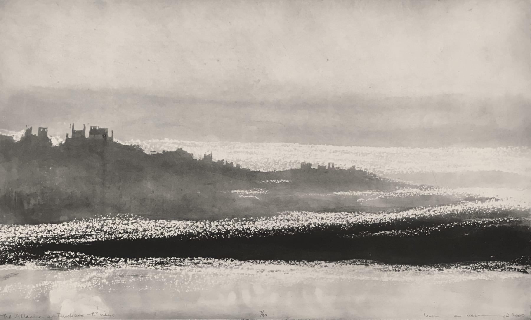 Norman Ackroyd, The Atlantic at Inishkea - Co. Mayo, 2020