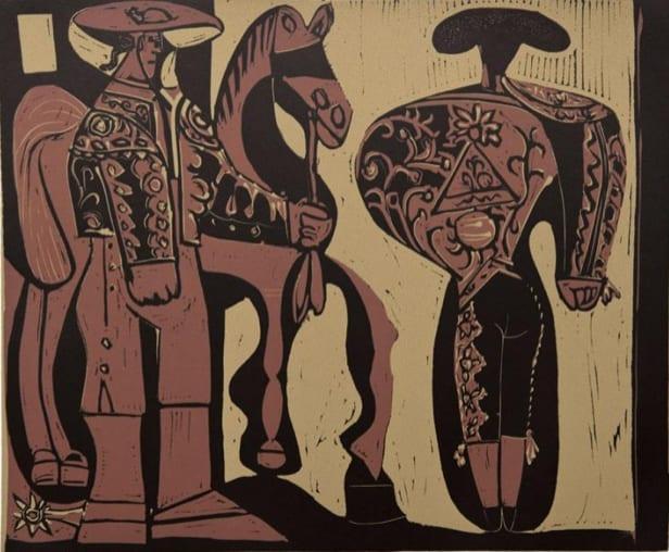 Pablo Picasso, Picador and Matador, 1962