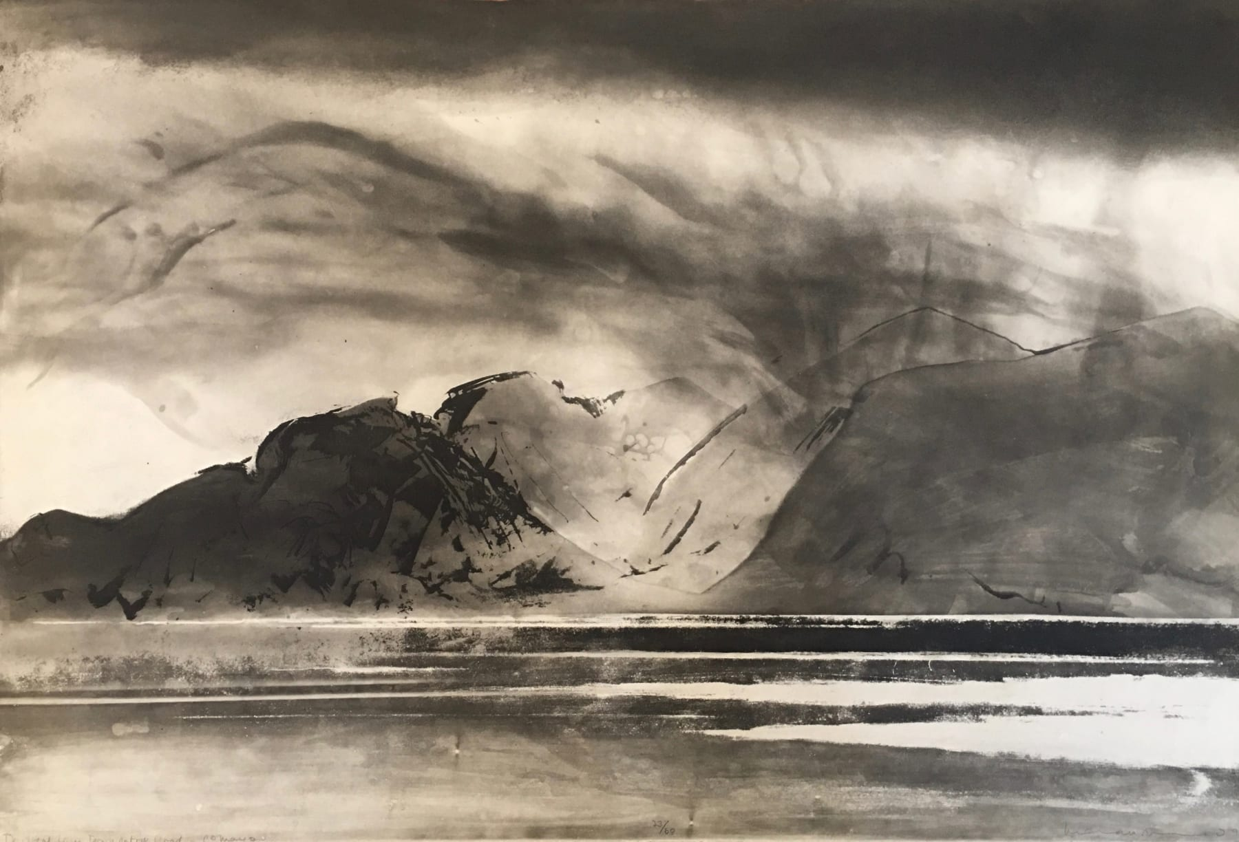 Norman Ackroyd, Donegal from Downpatrick Head, 1994