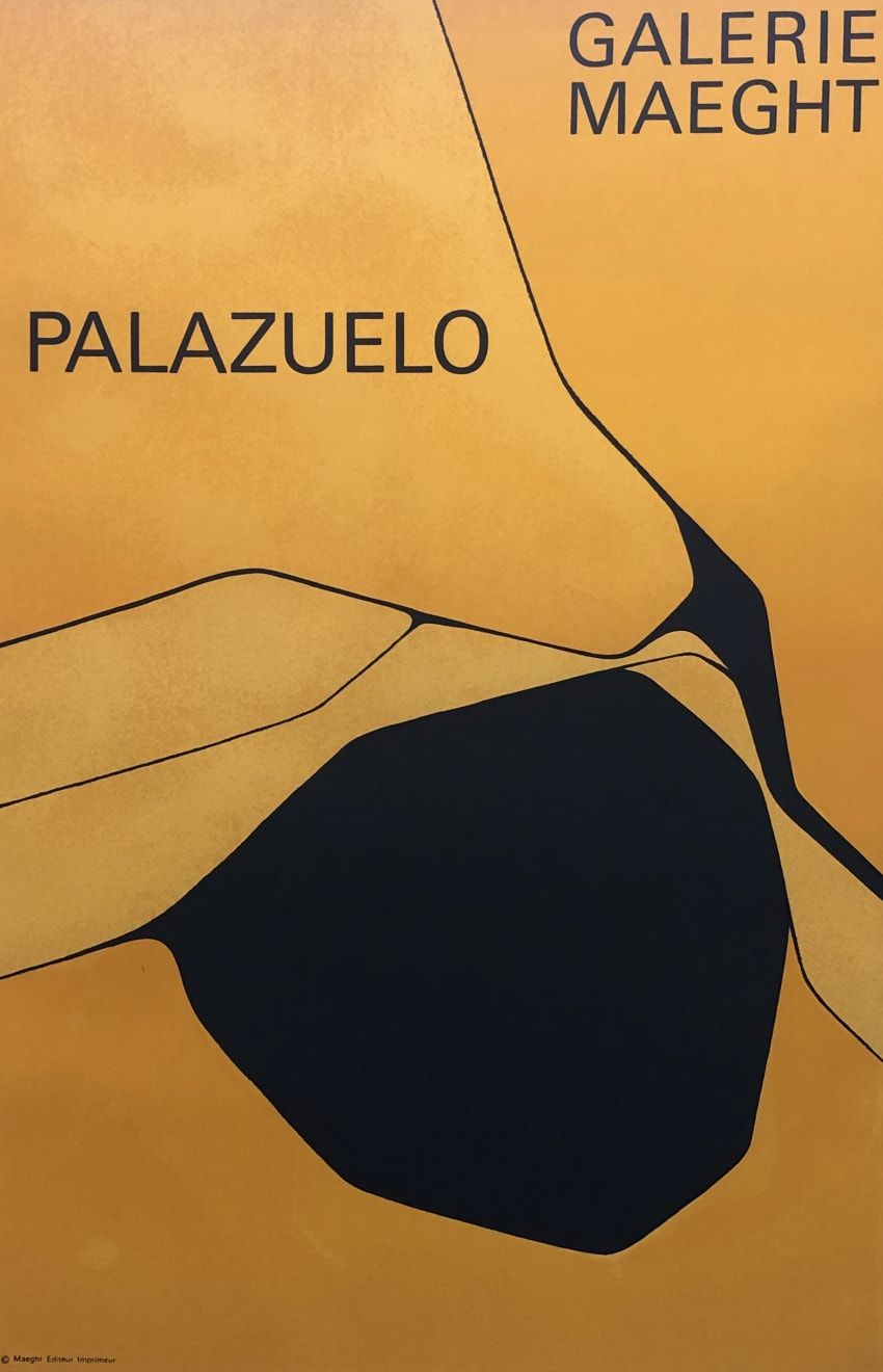 Summer Auction 2020, LOT 116 - Pablo Palazuelo - 'Expo '63 Galerie Maeght - Palazuelo', 1963