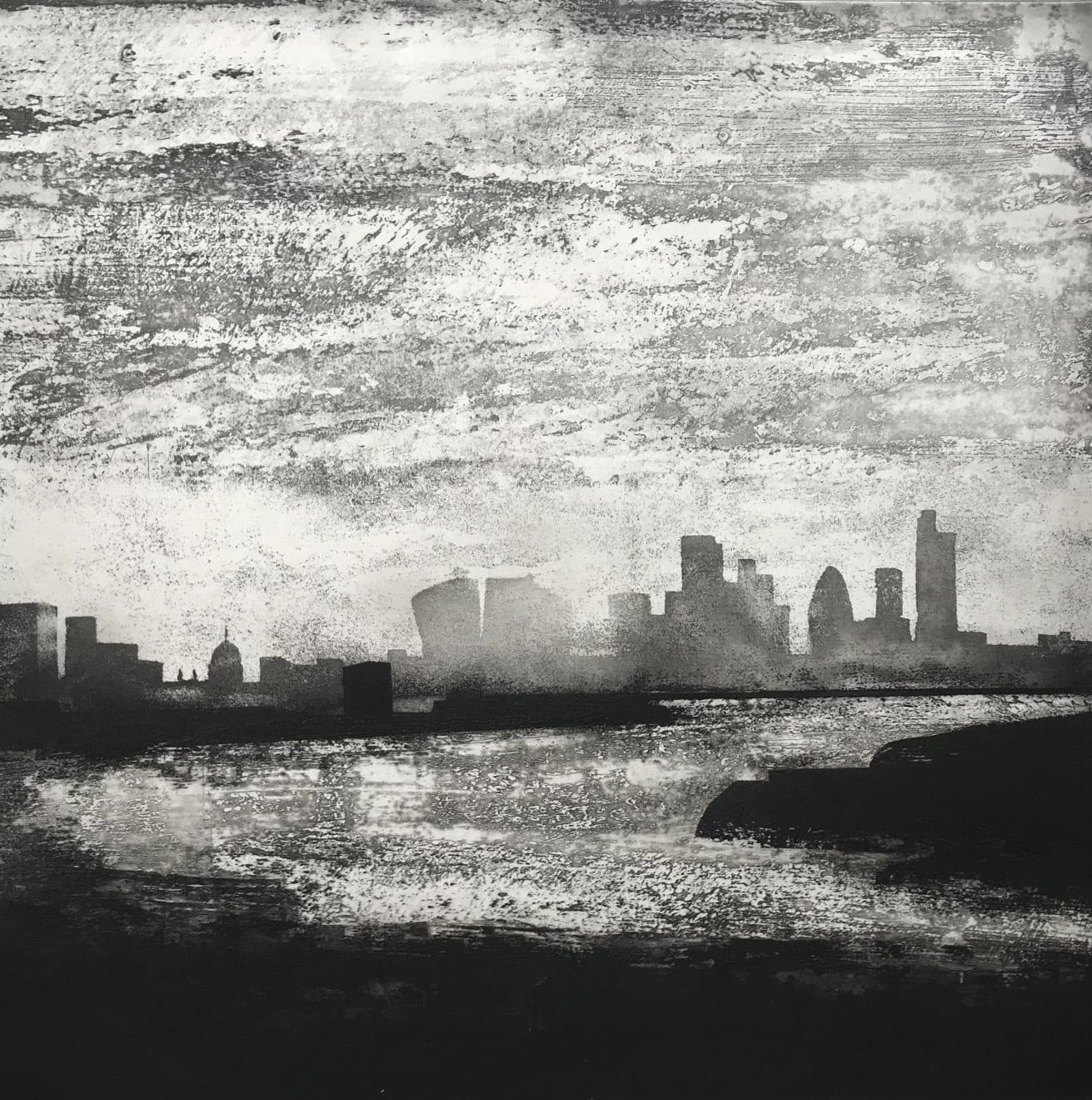 Jason Hicklin, The Thames. Greenwich Reach, 2019