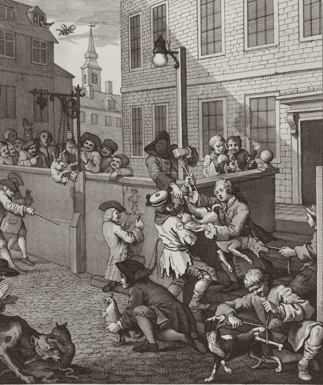 William Hogarth, The First Stage of Cruelty (The Four Stages of Cruelty), 1751