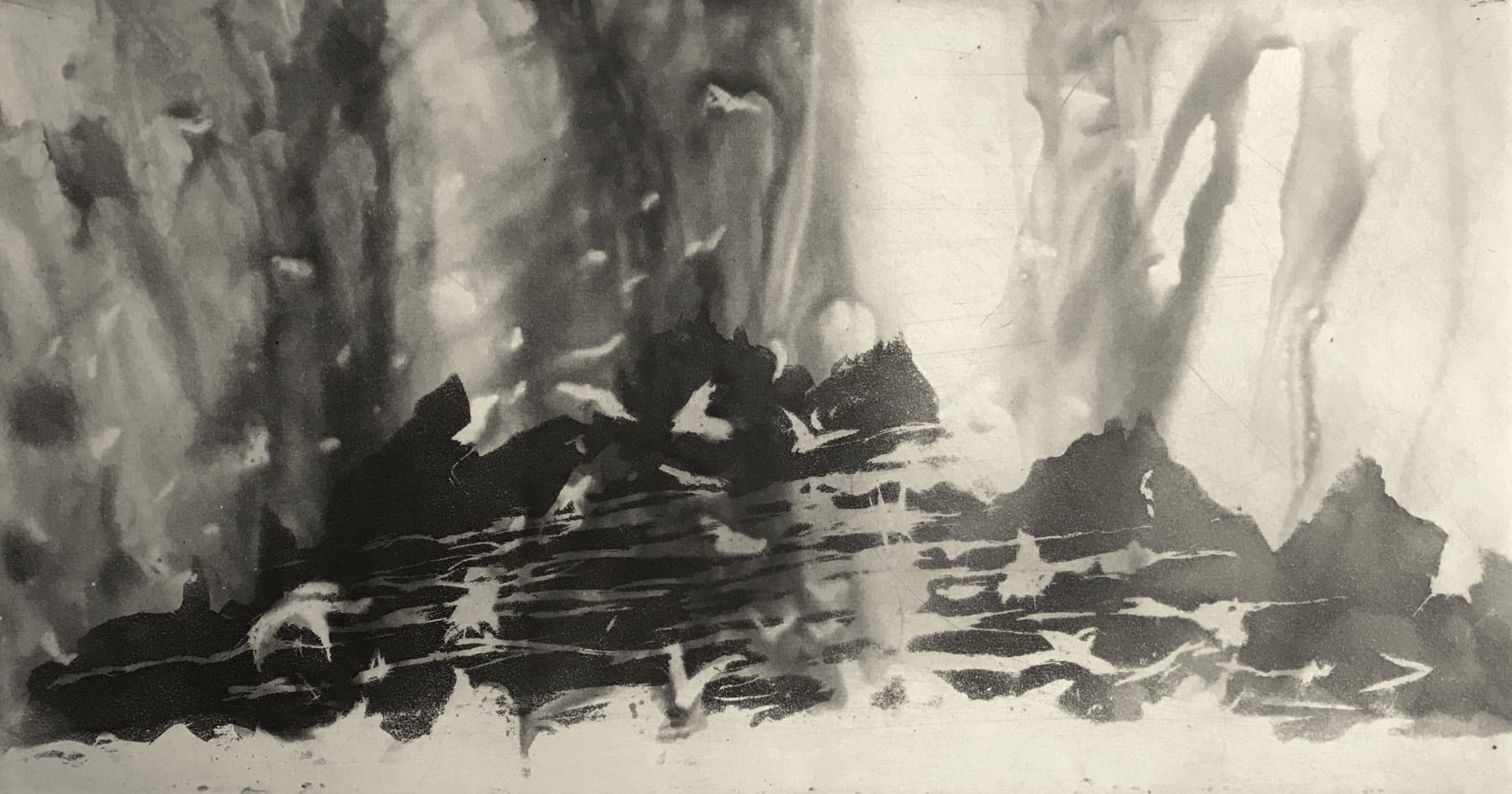 Norman Ackroyd, Sun and Rain - Skellig - Co. Kerry, 2020