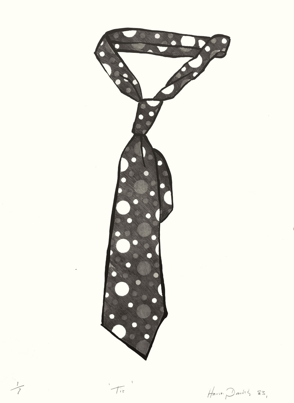 Harvey Daniels, Tie, 1983
