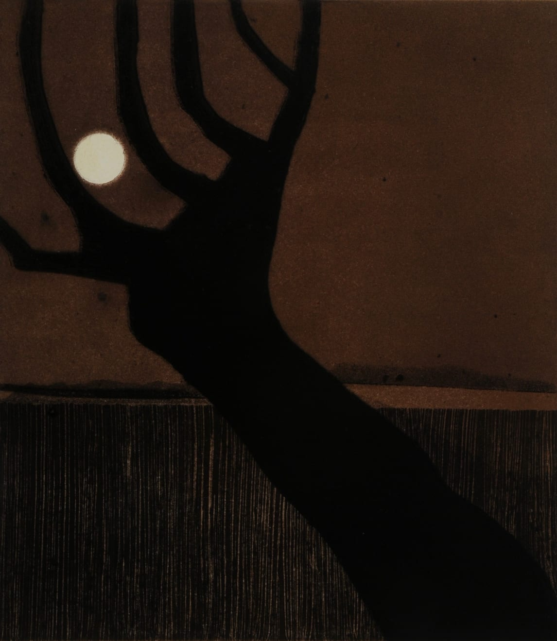 Nigel Swift, Moon in a Tree, 2019