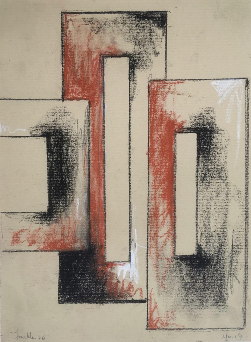 Malcolm Franklin, Tenement Sketch no.19, 2020