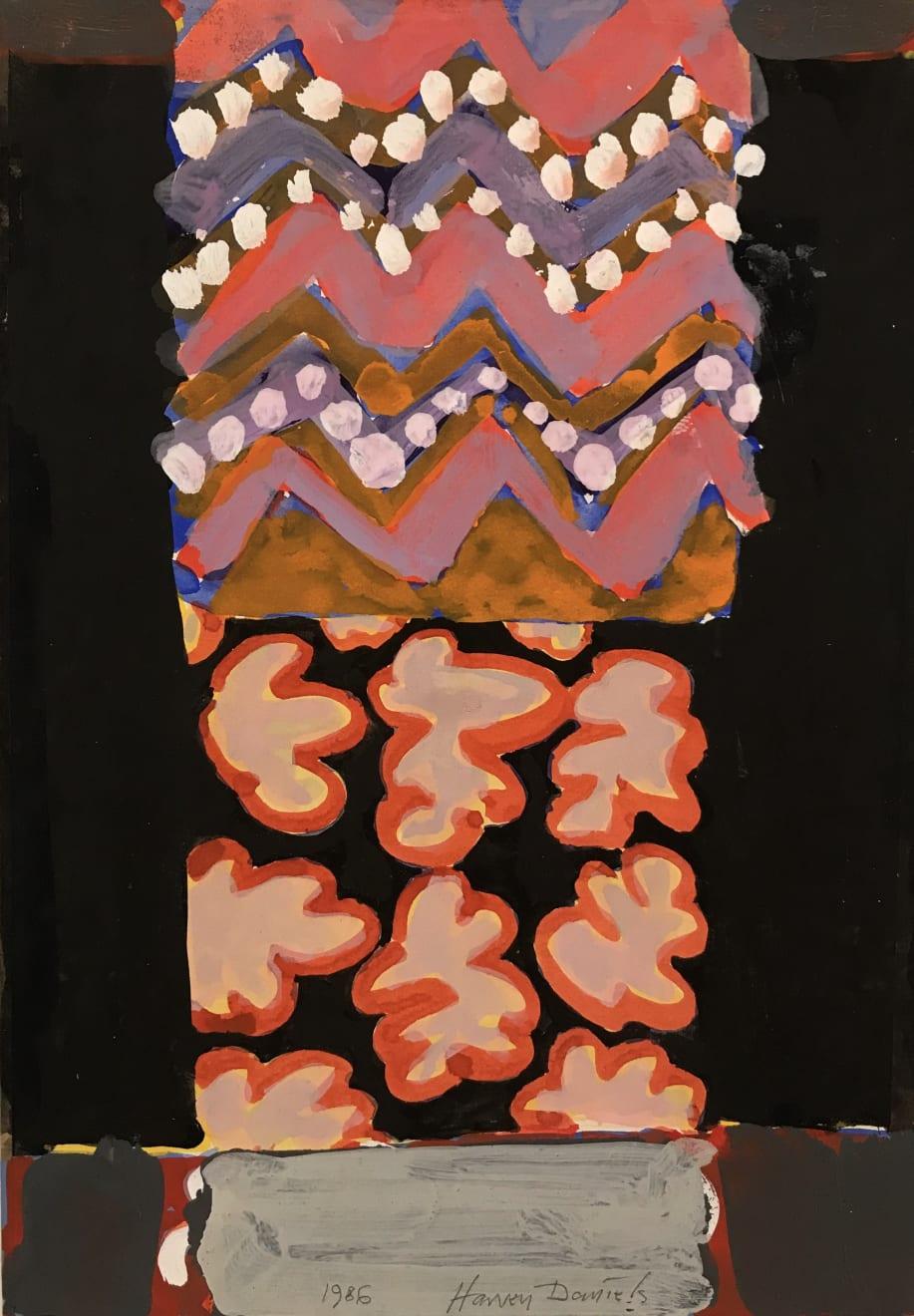 Harvey Daniels, Untitled, 1986