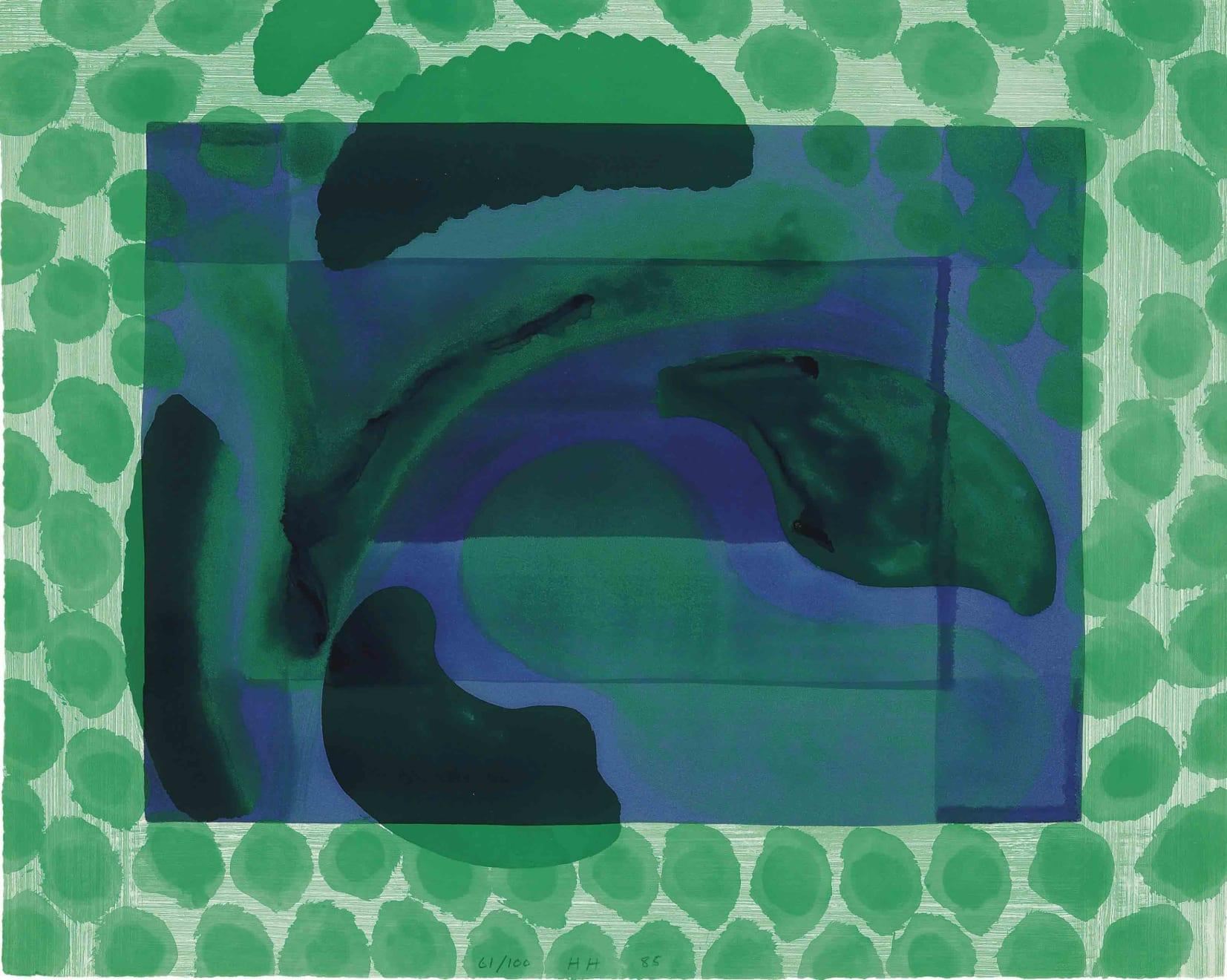 Howard Hodgkin, David's Pool, 1979 - 1985
