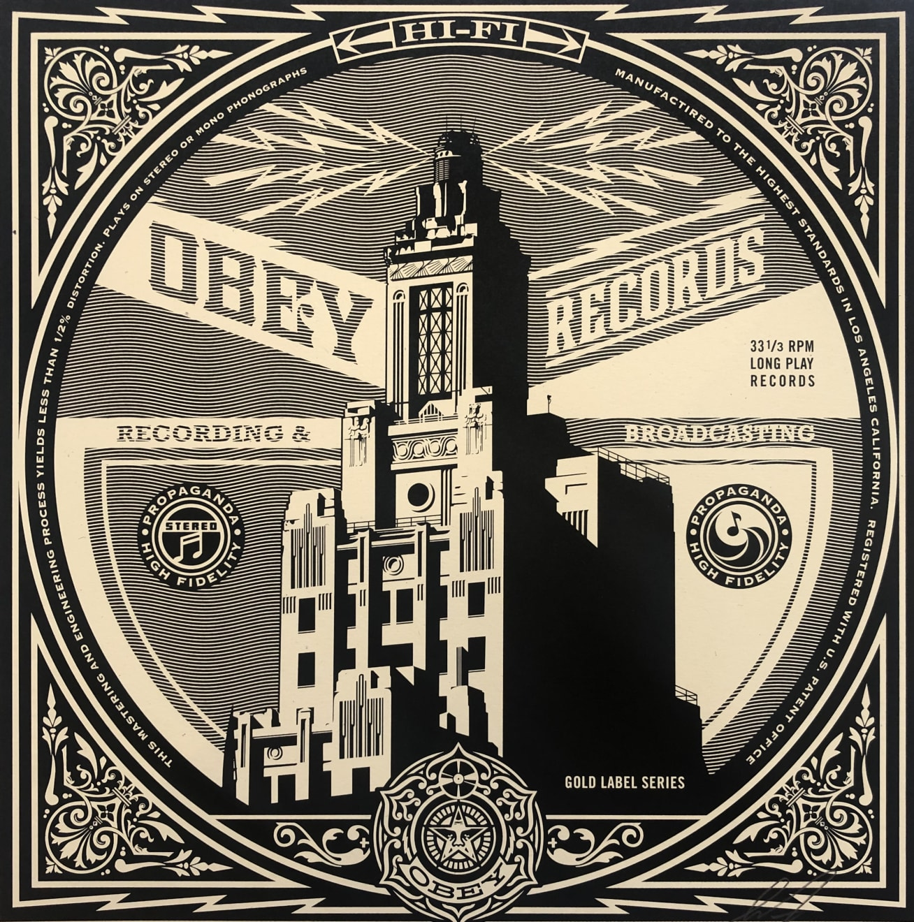 Summer Auction 2020, LOT 50 - Shepard Fairey - 'Obey Broadcasting', 2011