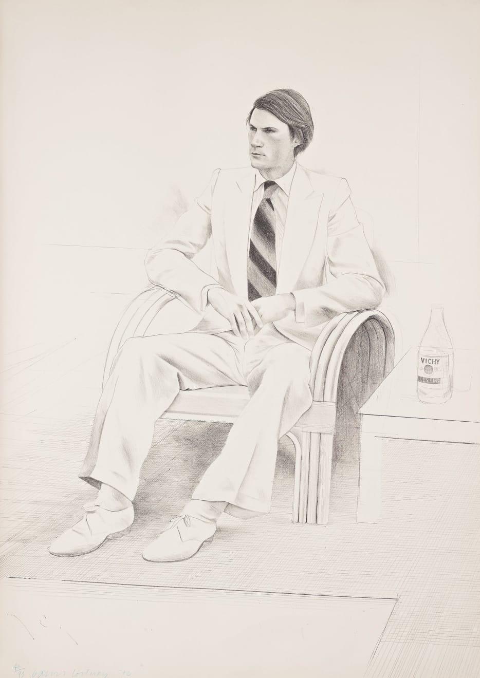 David Hockney, Joe MacDonald, 1976