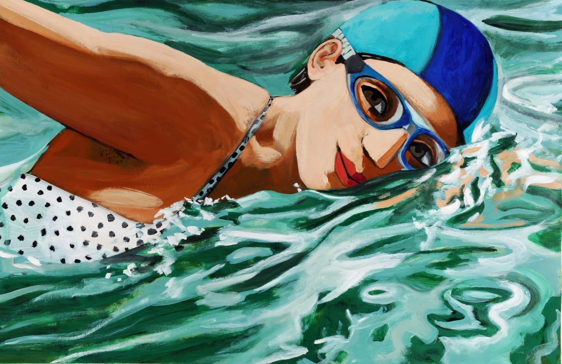 Anita Klein, Swimming in Sunshine, 2020