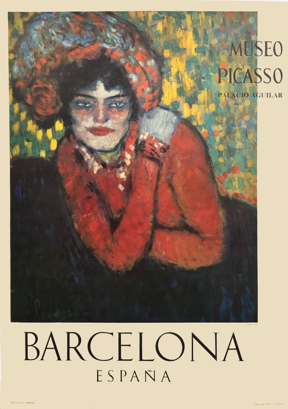 Pablo Picasso, Museo Picasso Barcelona Poster (Margot), 1966