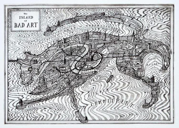 Grayson Perry, The Island of Bad Art, 2013