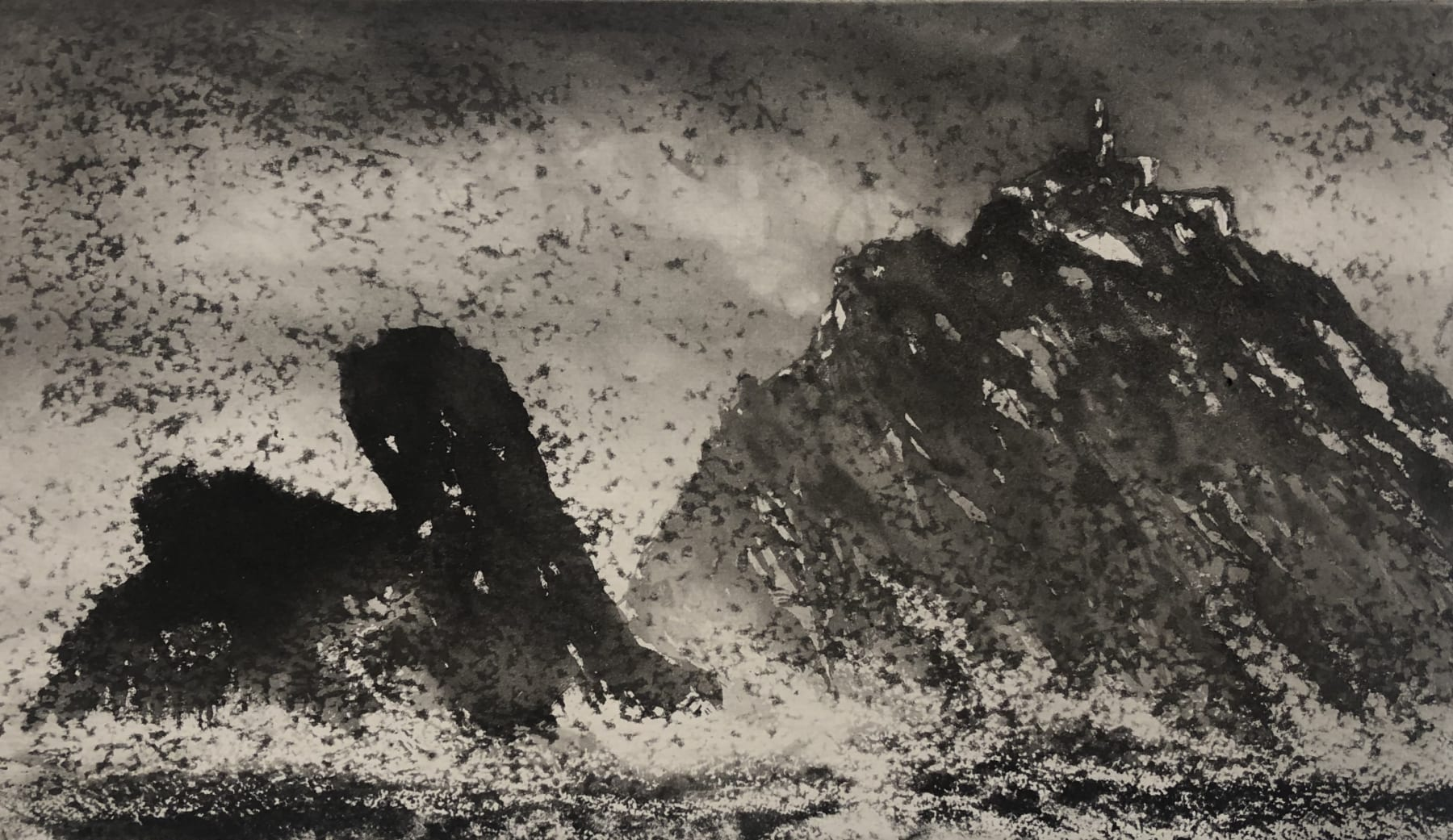 Norman Ackroyd, Parrot Rock Co. Mayo, 2020