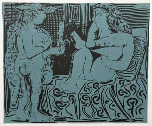 Pablo Picasso, Two Women, 1962