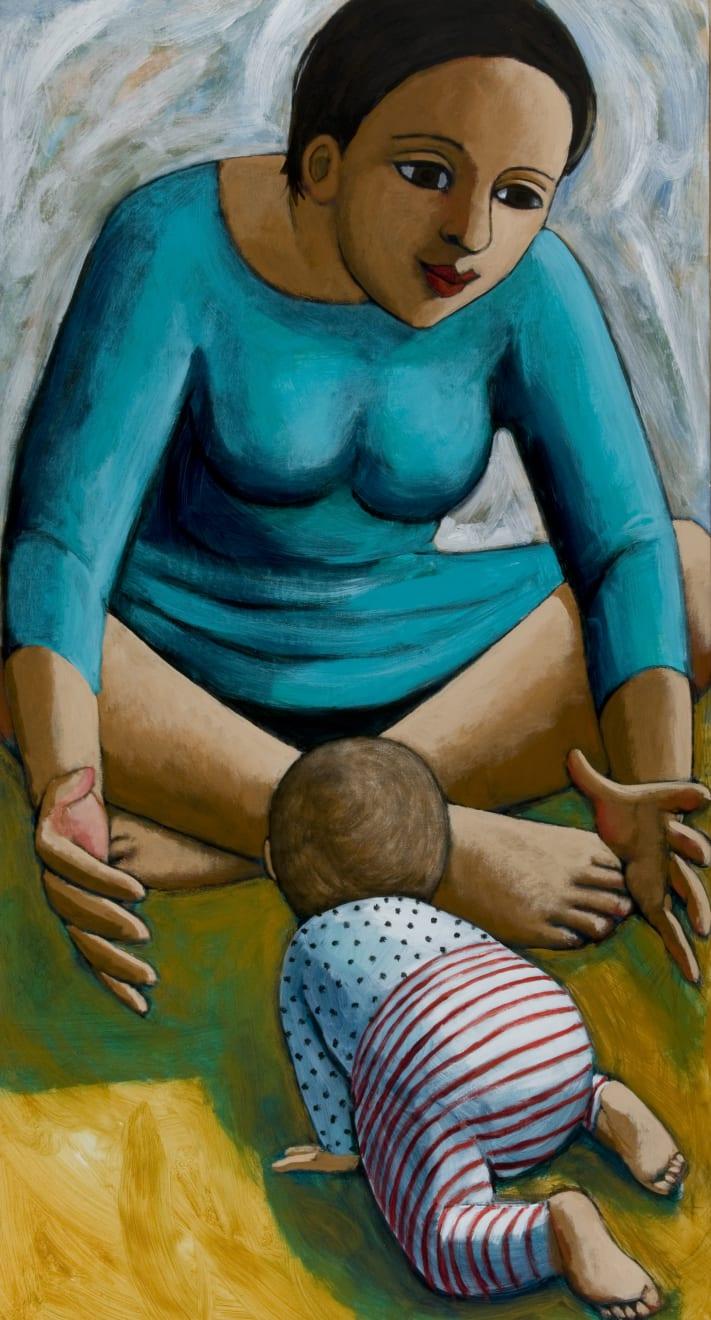 Summer Auction 2020, LOT 96 - Anita Klein - 'Crawling Baby', 2015