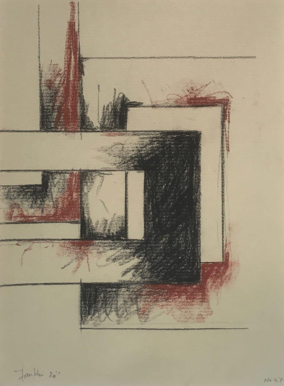Malcolm Franklin, Tenement Sketch no.47, 2020