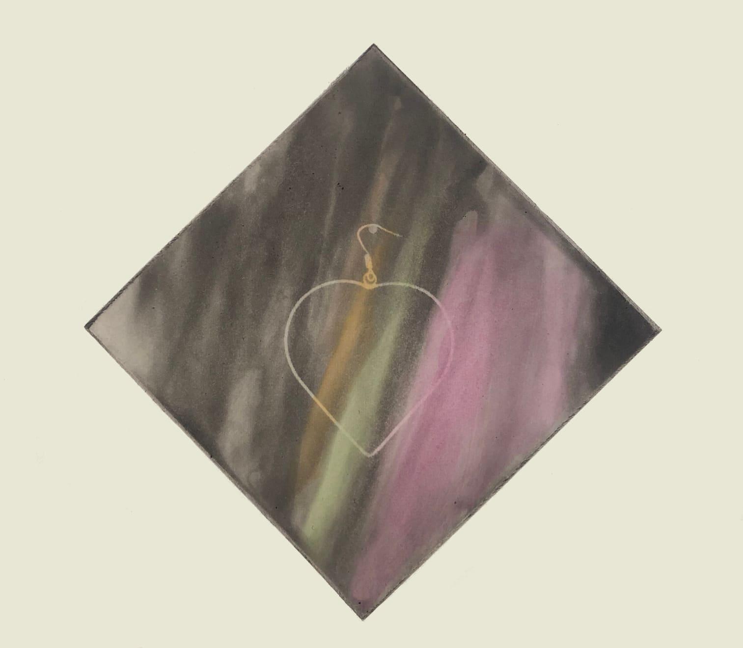 Norman Ackroyd, Lockdown Rainbow No. 5 - Decoration, 2020
