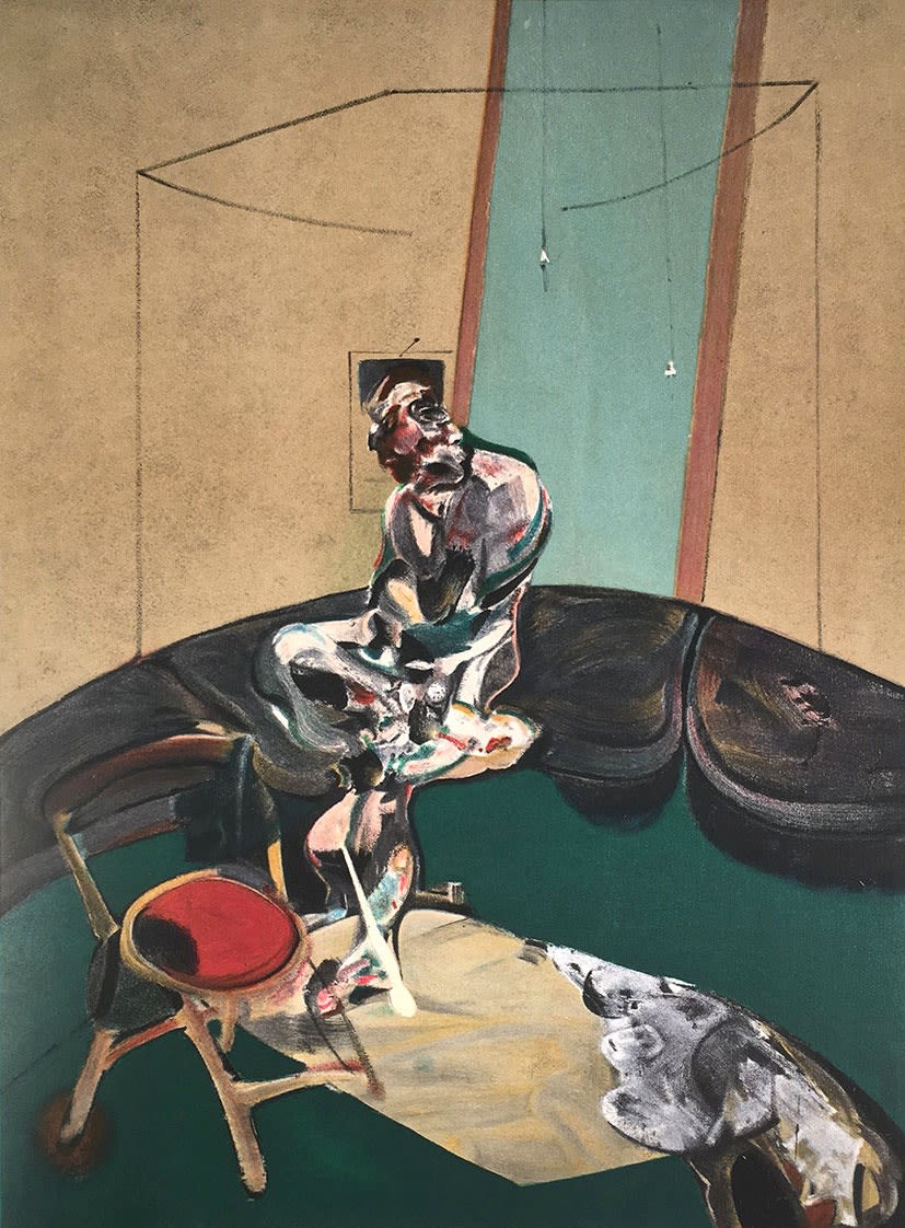 Francis Bacon, Portrait of George Dyer Sitting, 1966