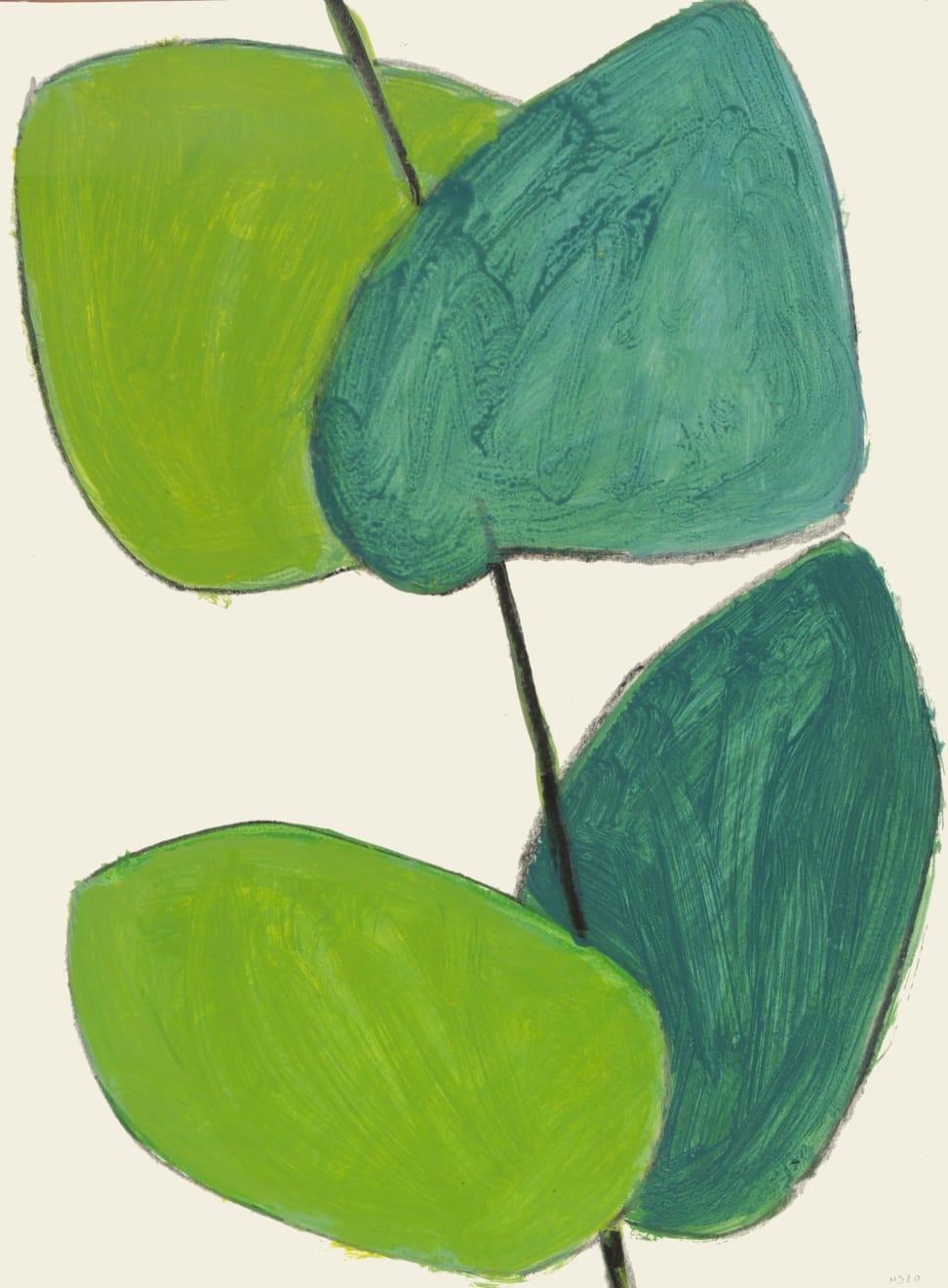 Summer Auction 2020, LOT 129 - Nigel Swift - 'Leaves XV', 2020