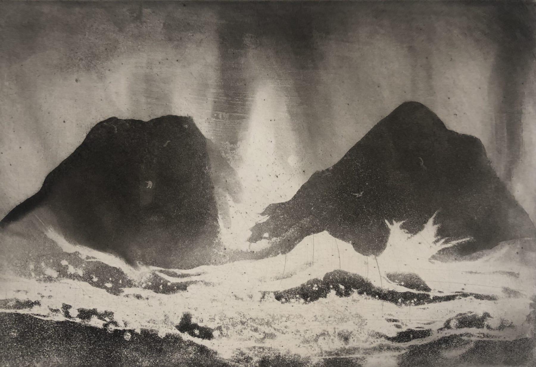 Norman Ackroyd, Inishbofin Sound, 2020