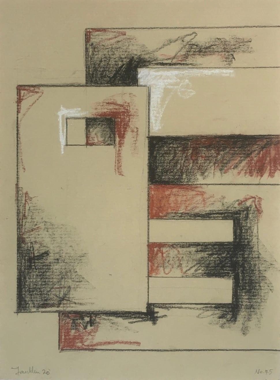 Malcolm Franklin, Tenement Sketch no.45, 2020
