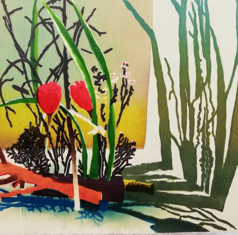 Sophie Layton, Sogetsu Arrangement - Detail , 2020