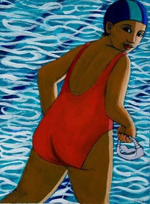 Anita Klein, The Swimmer, 2017