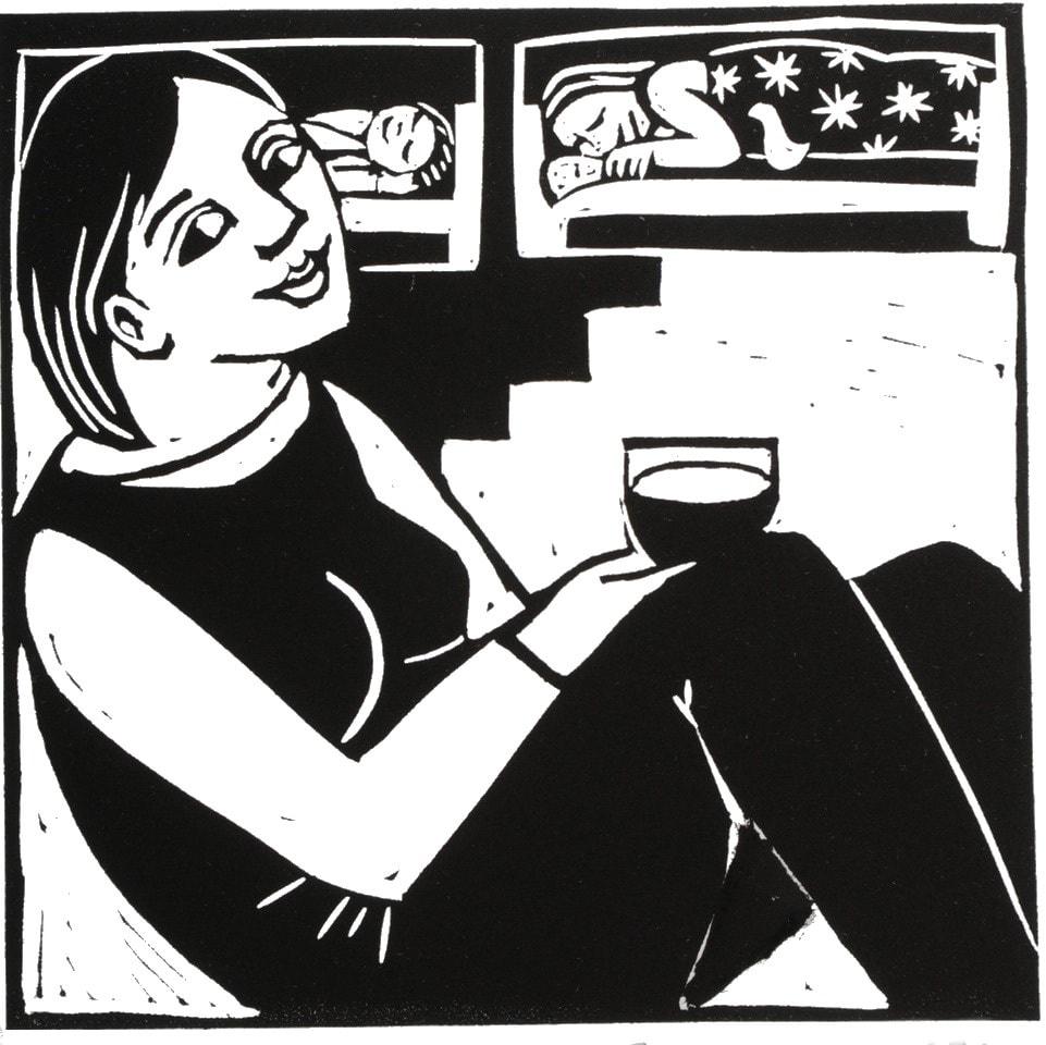 Anita Klein, After Bedtime, 2020