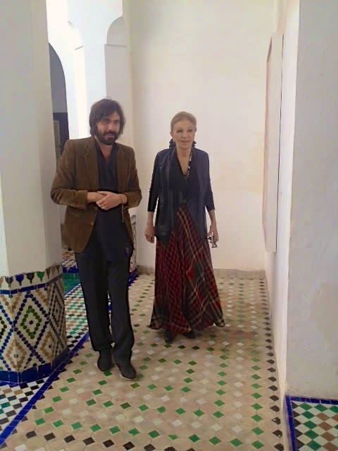 HIH Farah Diba Private Viewing Marrakech