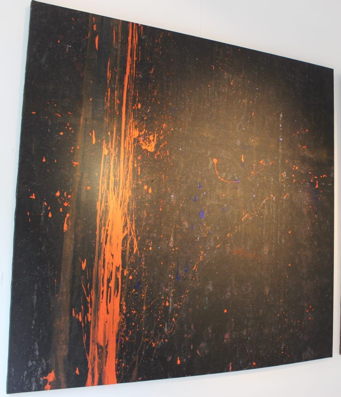 Cadmium Black IV Installation View