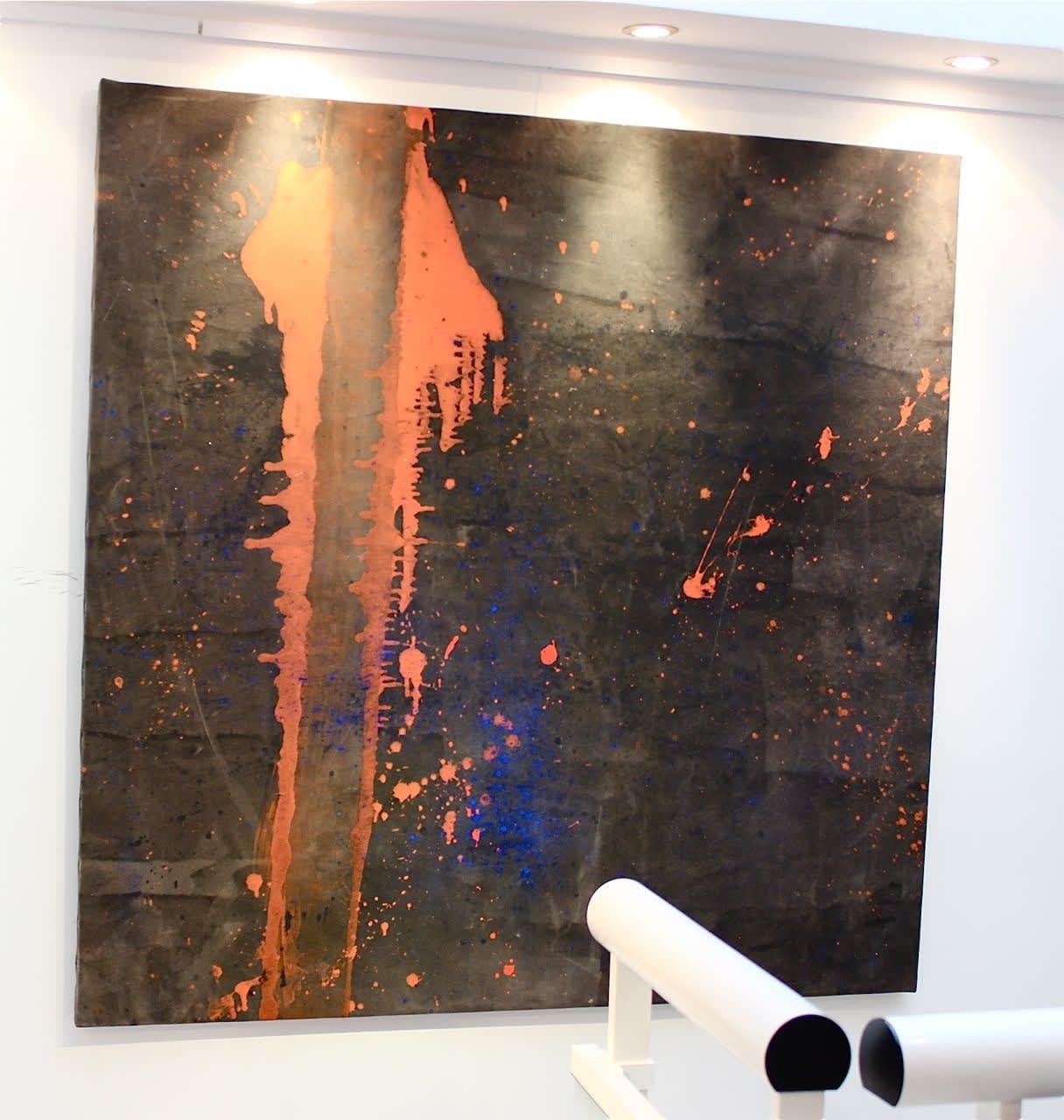 Cadmium Black VIII , 2013 Installation view