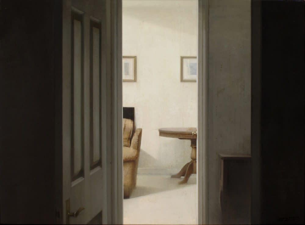 Carlos Morago - Sala - 2018 - olieverf op paneel - 60 x 80 cm