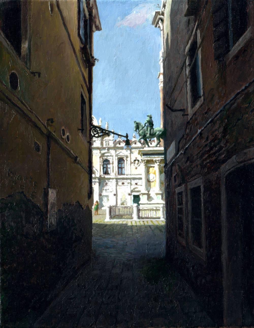 Jan Maris - Colleoni - 2016 - olieverf op doek - 34 x 27 cm