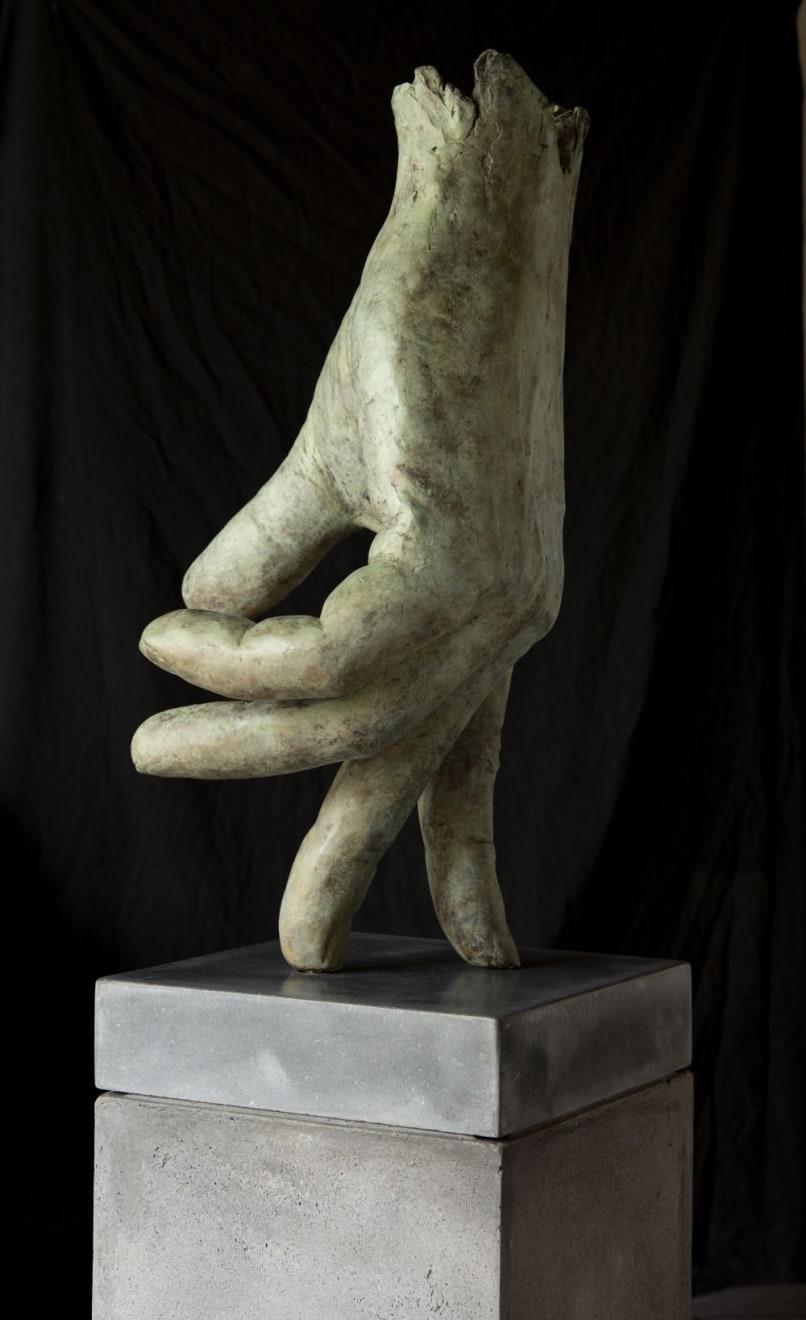 Kenne Grégoire - Loper - 2016 - brons - 80 cm
