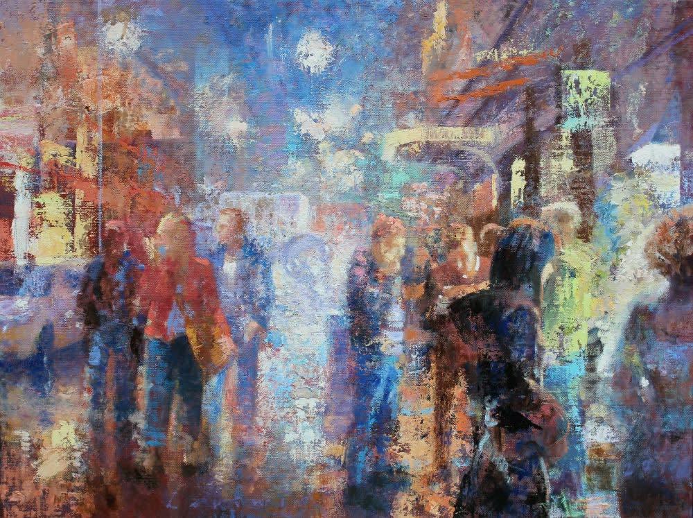 Peter Hartwig - Koets - 2016 - olieverf op linnen - 60 × 80 cm