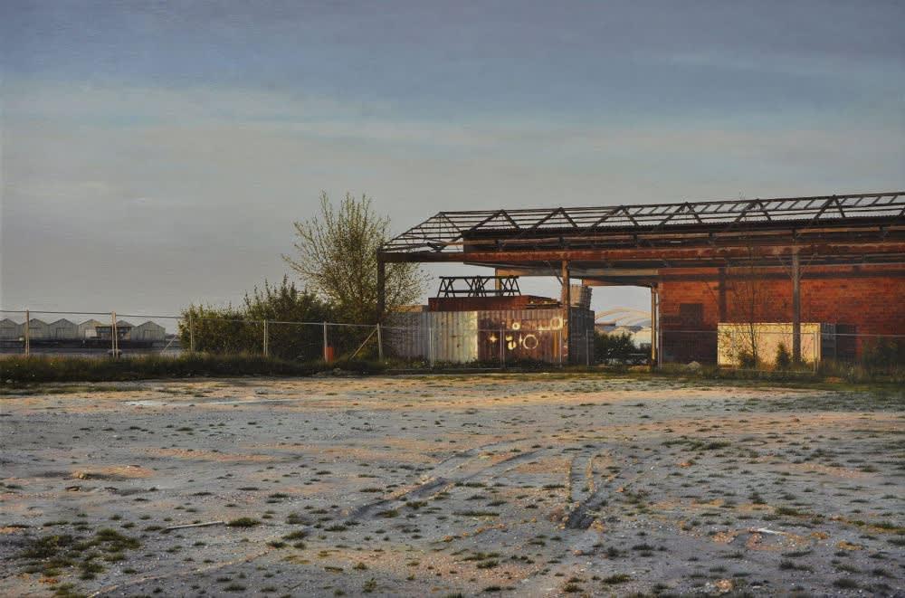 Dimitri Desiron - Land's end - 2015 - olieverf op doek - 60 x 90 cm