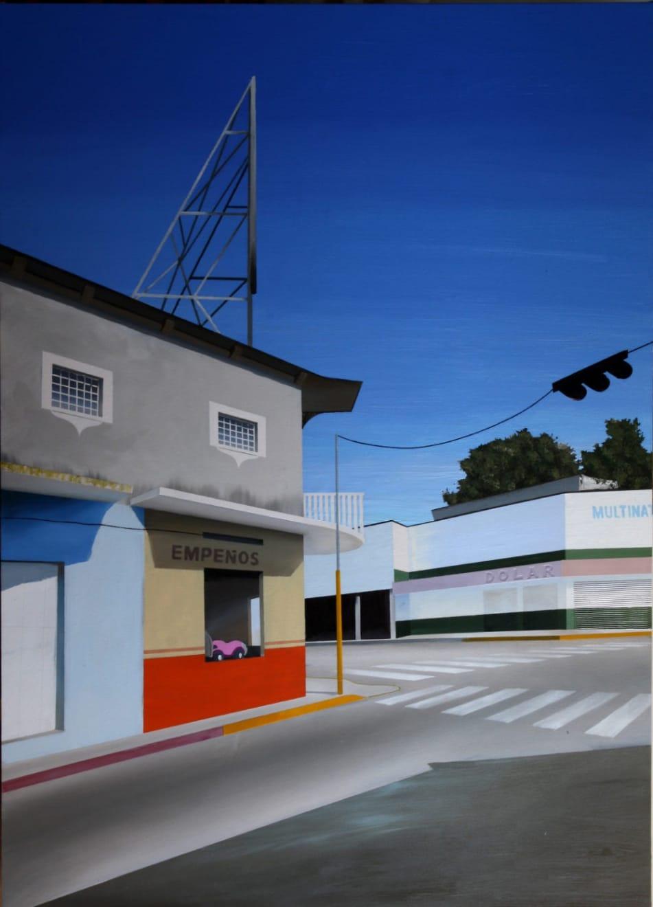 Hendrik Voerkel - Empeños - 2014 - Olie en acryl op doek - 180 x 130 cm