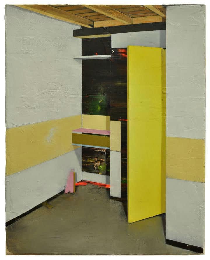 Carlos Sagrera - Worktop - 2016 - acryl op doek - 41 x 33 cm