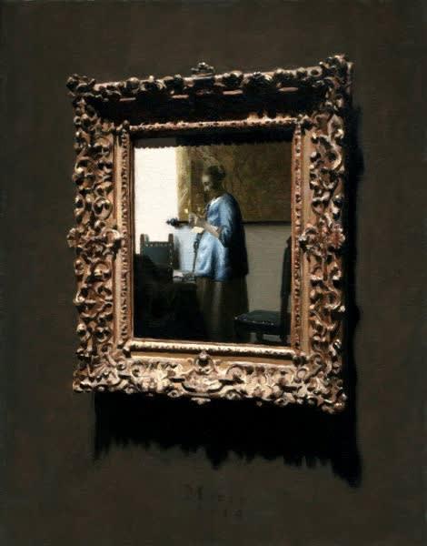 Jan Maris - Schilderij - 2014 - olieverf op doek - 38 × 30 cm