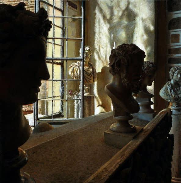 Jan Maris - Capitolini - 2013 - olieverf op doek - 70 × 70 cm