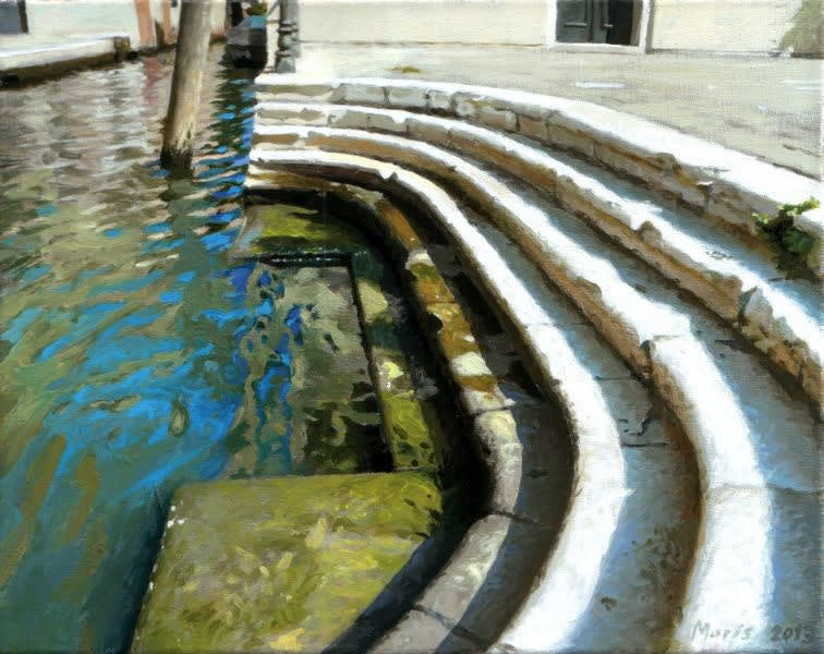 Jan Maris - Kade - 2013 - olieverf op doek - 26 × 33 cm