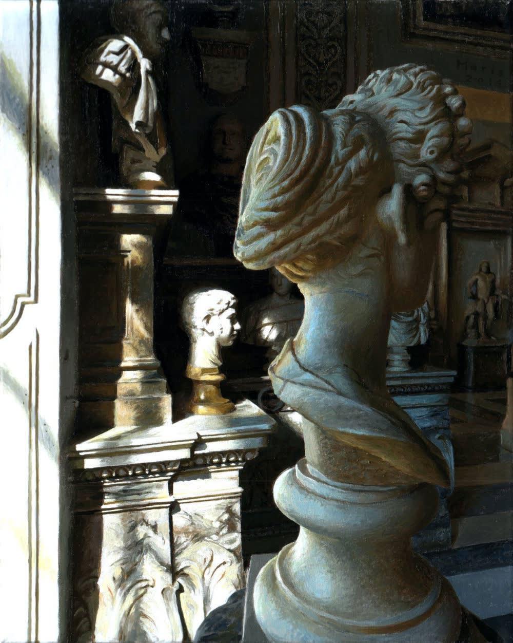 Jan Maris - Capitolini II - 2014 - olieverf op doek - 52 × 41 cm